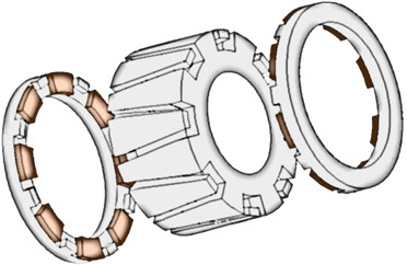 3D Excited Rotor
